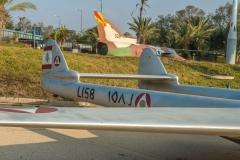 Hechk einer de Havilland Venom mit Irakischem Hoheitszeichen