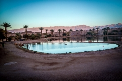 ein Wüstensee