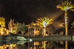 Timna Park bei Nacht