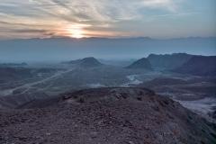 Sonne über den Israeltrail