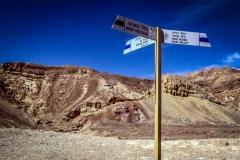 Wegweiser Wadi Roded