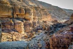 Erstes Wadi an diesem Tag