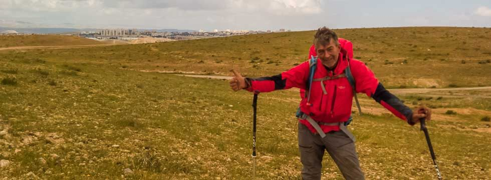 2016 auf dem Israel National Trail