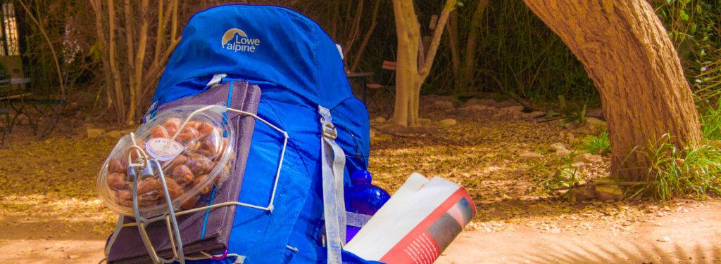Rucksack mit 28 kg Gewicht