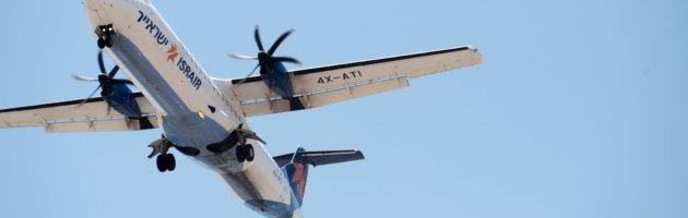 Landeanflug in Eilat