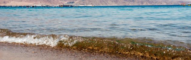 Strand von Eilat