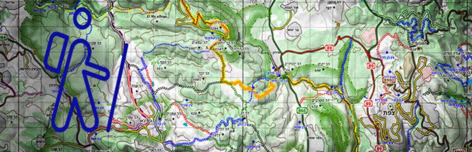 Israel Karte für Planung und Navigation