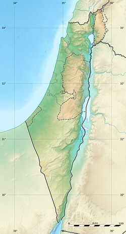 Israel Karte