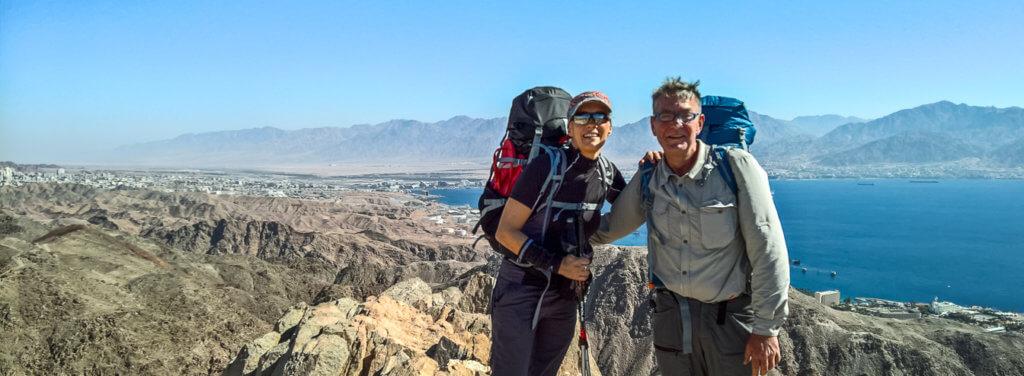 Wüstenwanderung auf dem Israel National Trail