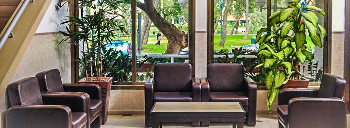 Bnei Dan Hostel: Gruppenraum