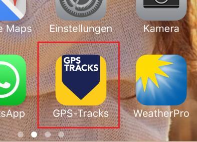 Gps Tracks eine App für Gps und Gpx Datein