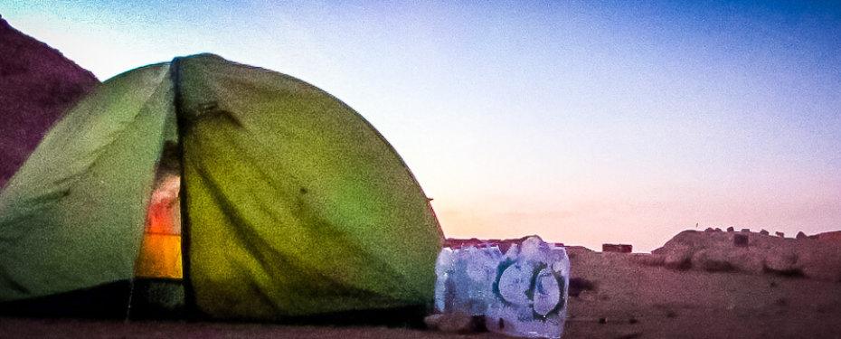 Camping und Zelten in Israel