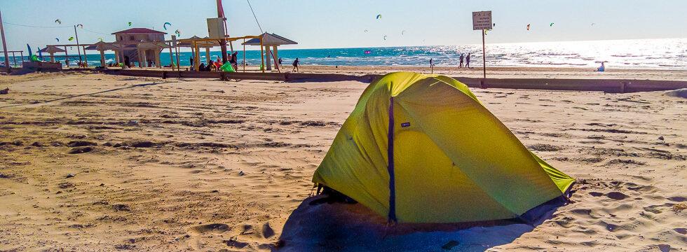 Reisezeit für Camping in Israel