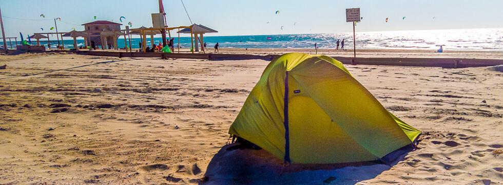Reisezeit für Camping in Israel/ Unterkünfte Eilat