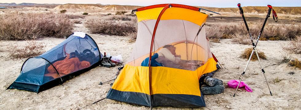 Camping in Israel