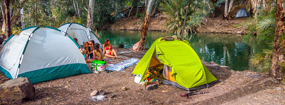 Camping in Israel