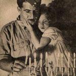 Chanukka in einer jüdischen Familie