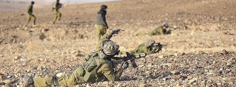 """Taktikausbildung von """"LOTAR Eilat"""" im Negev"""