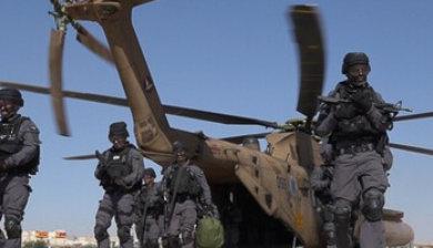 Polizeiübung in Eilat