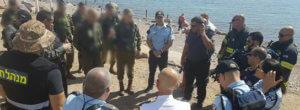 Polizeiübung in Eilat: Auswertung der Antiterrorübung Credit: israelische Polizei